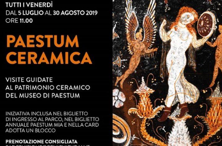Dal 5 Luglio al 30 Agosto ogni venerdì alla scoperta dell'antica ceramica pestana