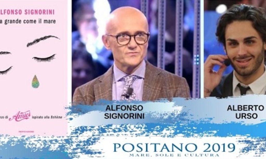 """Alfonso Signorini e Alberto Urso a """"Positano 2019 Mare Sole e Cultura"""""""