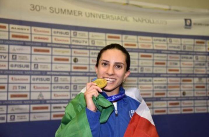 Unisa per Universiade: il primo oro azzurro è della scherma con Erica Cipressa