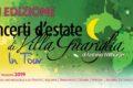"""Martedi 9 Luglio inaugurazione dei """"Concerti d'Estate di Villa Guariglia in tour"""""""