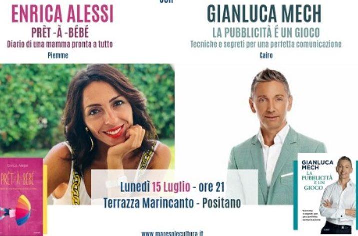 "Enrica Alessi e Gianluca Mech a ""Positano 2019 Mare, Sole e Cultura"""