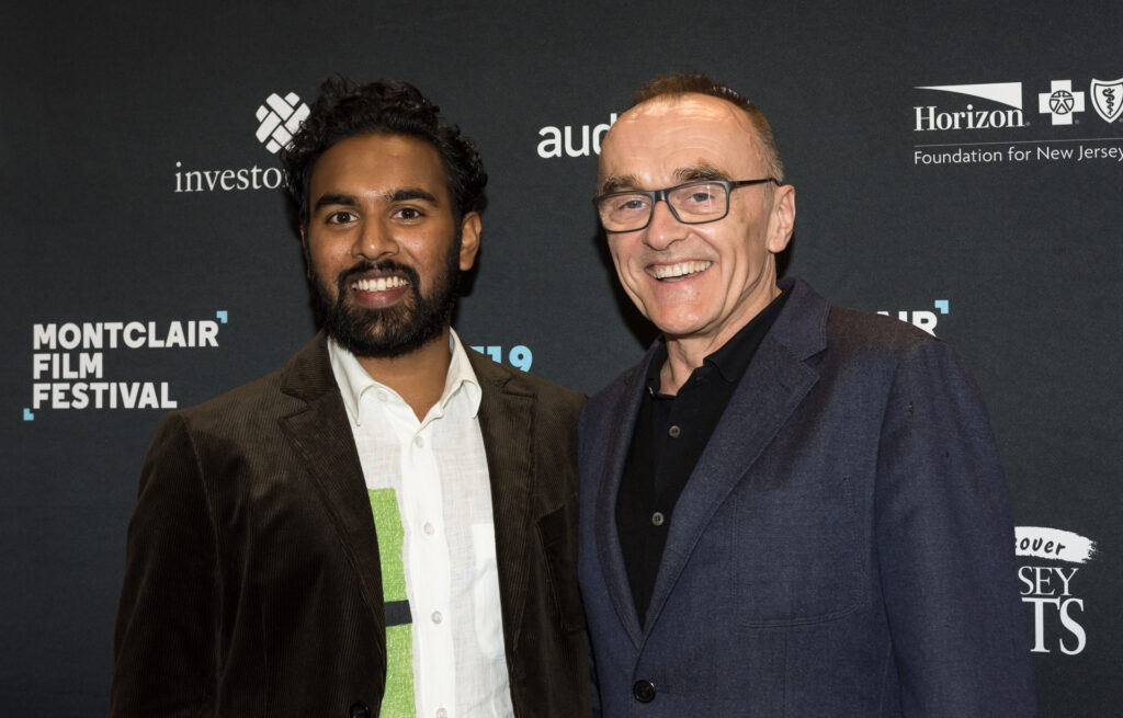 Da sinistra il protagonista Himesh Patel e Il regista Danny Boyle